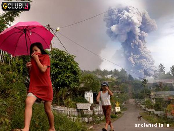 วิธีรับมือจากภูเขาไฟระเบิด